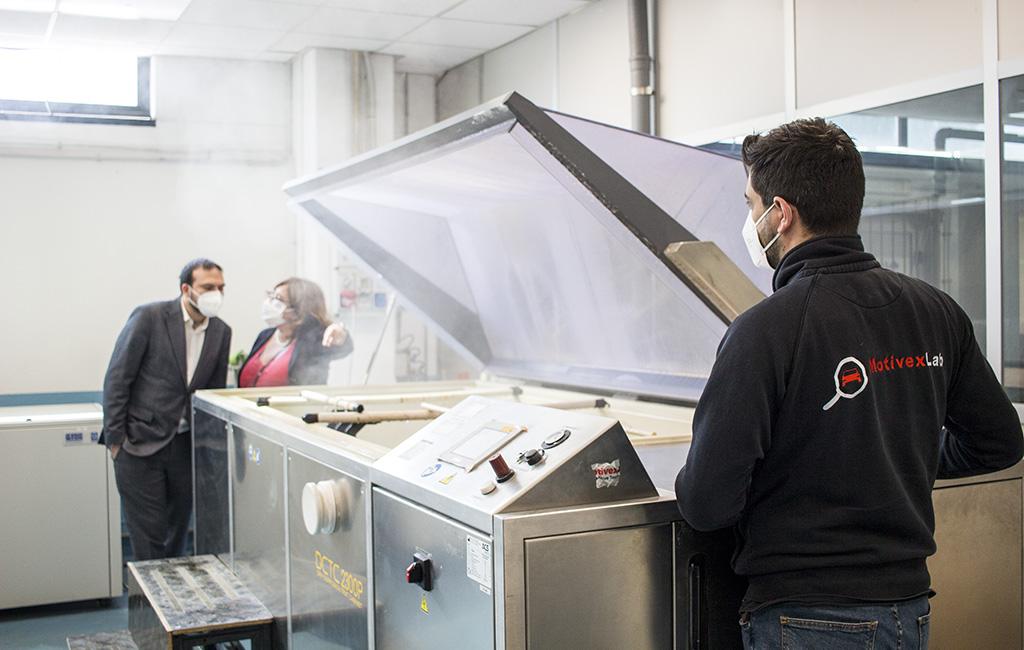 Prove di corrosione su campioni con rivestimento in grafene